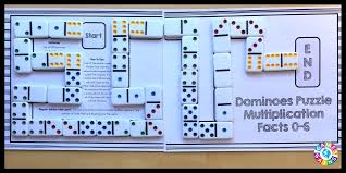 use basic facts to solve these dominoes math puzzles u2013 games 4 gains