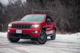 jeep grand cherokee trailhawk grey review 2017 jeep grand cherokee trailhawk canadian auto review
