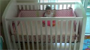 Folding Mini Crib Mini Cribs Small Bedside Bassinet Solid Wood Alma Nursery
