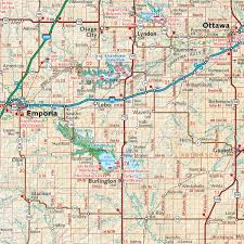 Montana Highway Map by Kansas Recreation Map U2014 Benchmark Maps