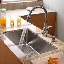 modern kitchen faucet graff me kraus khu10030kpf2120sd20 30 inch undermount single bowl stainless