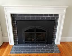 subway tile fireplace surround with glass subway tile fireplace 01