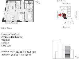 embassy floor plan 2 bedroom flat for sale in embassy gardens ambassador building
