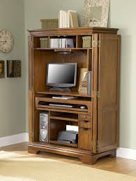 Solid Oak Computer Armoire by Beautiful Looking Office Armoires Furniture Interesting Ideas