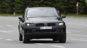 volkswagen touareg 2013 2015 volkswagen touareg facelift spied for the first time