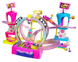 25 polly pocket race concert playset halle