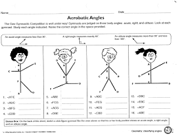 Interior And Exterior Angles Worksheet Angles Types Worksheets With Worksheet With Angles Types