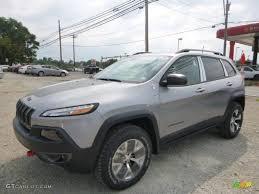 jeep cherokee silver 2016 billet silver metallic jeep cherokee trailhawk 4x4 106885435