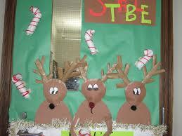 office 30 decorative door ideas christmas office reindeer