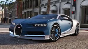 car bugatti chiron bugatti chiron u0026 vision tuning add on gta5 mods com