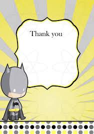 smurfs baby shower invitations printable invitation batman baby shower thank you by atomdesign