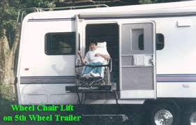 Travel Trailer With Garage Accessible 5th Wheel