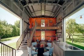 inspirations u0026 ideas cargo container homes blue chair prefab home