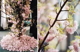 cherry blossom decor cherry blossom charade strawberry milk events