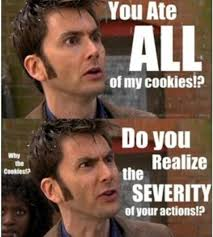 David Tennant Memes - the david tennant cookie meme doctor who amino
