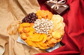 fruit and nut baskets deluxe fruit and nut gift tray from nuts in bulk nut baskets