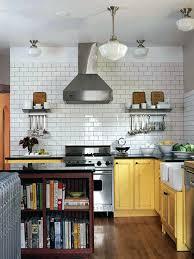 Black And White Kitchen Tile by Black And White Subway Tile Backsplash White Kitchen Cabinets