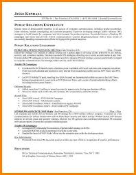 Public Relations Resume Template 8 Public Relations Resume Samples Offecial Letter