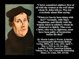 luther s martin luther the pig of hell blasphemously accused jesus