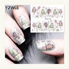 popular animal nail stickers buy cheap animal nail stickers lots