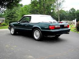 7 up edition mustang 1990 mustang lx 5 0 convertible 7 up edition only 13k 5