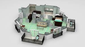 3d floor plans cartoblue planos de hoteles pinterest house