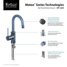 kpf 2600ch mateo single lever kitchen bar faucet in chrome kraus kpf 2600ch mateo single lever kitchen bar faucet in chrome