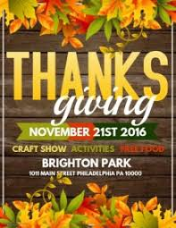 customizable design templates for thanksgiving concert
