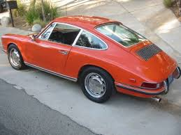 porsche 911 cheap 1968 porsche 911l for sale orange rear porsche