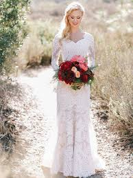 wedding dress with sleeves 14 gorgeous lace wedding dresses with sleeves