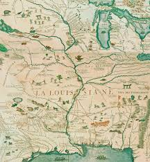 Louisiana Mississippi Map by Maps And The Beginnings Of Colonial North America Digital