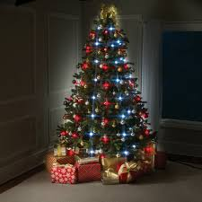christmas tree with lights tree dazzler easy led christmas tree lights