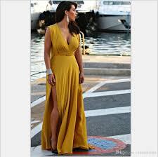 split long maxi dresses 2017 large size women chubby ladies