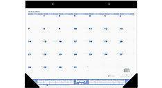 desk calendars u0026 desk pads calendars at a glance