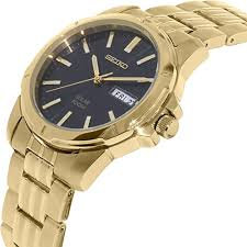 gold bracelet mens watches images Men 39 s watches mens watch seiko sne100 gold tone stainless steel jpg