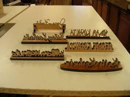 Custom Desk Plaque Custom Wooden Desk Nameplates Manufacturer American Plaque