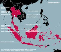 Southern And Eastern Asia Map by Malaysia Must Refocus To Develop As A He Power The Rankings