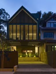 Industrial House Elegant Interior With Industrial Elements Y House In Singapore By