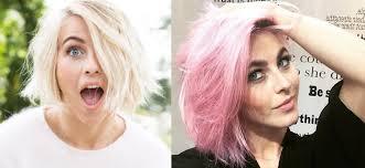 julianne hough hairstyles riwana capri julianne hough goes pink beauty coach