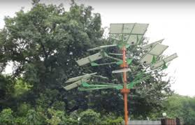 solar trees are beneficial in a land scarce economy
