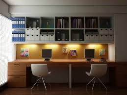 Office Design Ideas For Small Office Modern Home Office With Turquoise Filing Cabinet Filing