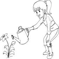 nature coloring pages surfnetkids