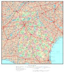 Georgia River Map Georgia Map Online Maps Of Georgia State
