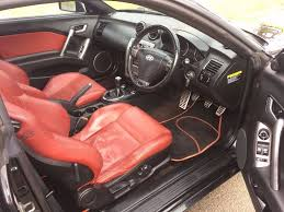 nissan almera leather seat hyundai coupe 2 0 siii se 3dr 6 months free warranty red leather