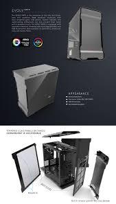 Tempered Glass Windows For Sale Buy Phanteks Enthoo Evolv Matx Tempered Glass Grey Case T G