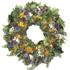 artificial wreaths and garlands walmart