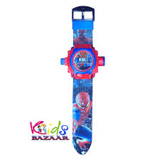 24 images spiderman projector watch for kids diwali gift birthday