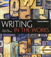 writing in the works susan blau kathryn burak 9781305087163