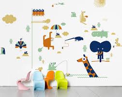 wall stickers domestic sticker kids zoo