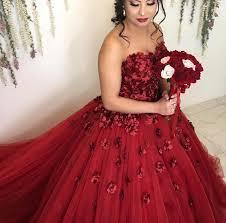 engagement dresses burgundy flowers wedding dresses gowns 2018 engagement dress